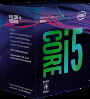 BX80684I58400S	CPU Intel Socket 1151 Core I5-8400 (2.80Ghz/9Mb) Box	Intel